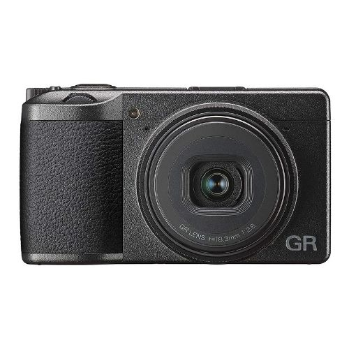 Ricoh's GR III is the most compact camera on this list for professional photographers