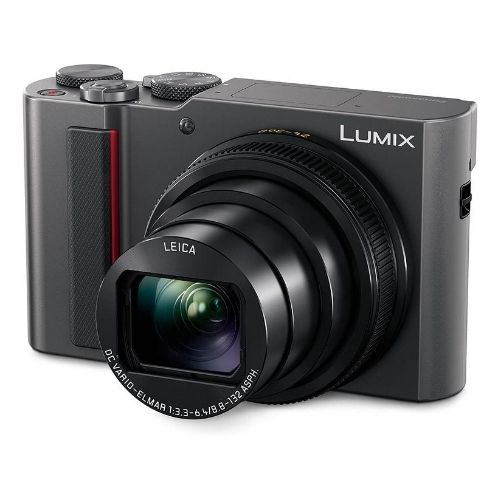 PANASONIC LUMIX ZS200 is the cheapest compact camera on our list