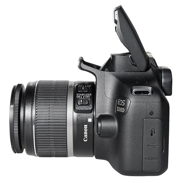 Built in Flash of EOS 1200D, also called as Rebel T5