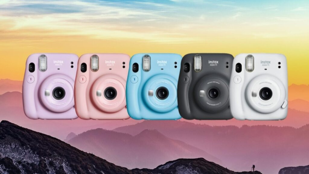 Instax Mini 11 different color options
