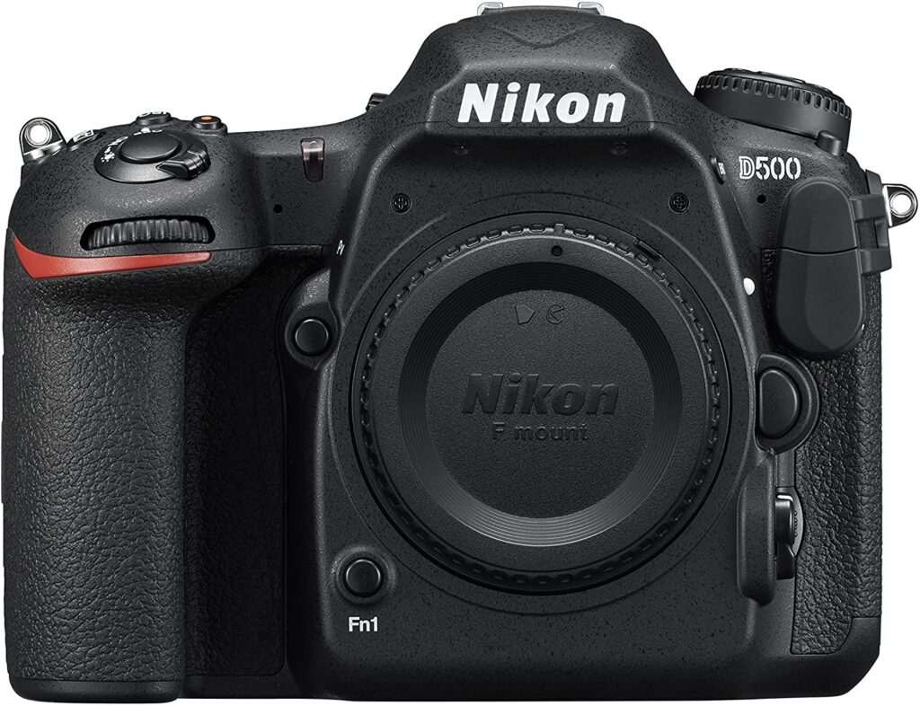 Nikon D500 is known for its touchscreen coupled with stunning resolution which gives the most crystal clear pictures in a concert setting