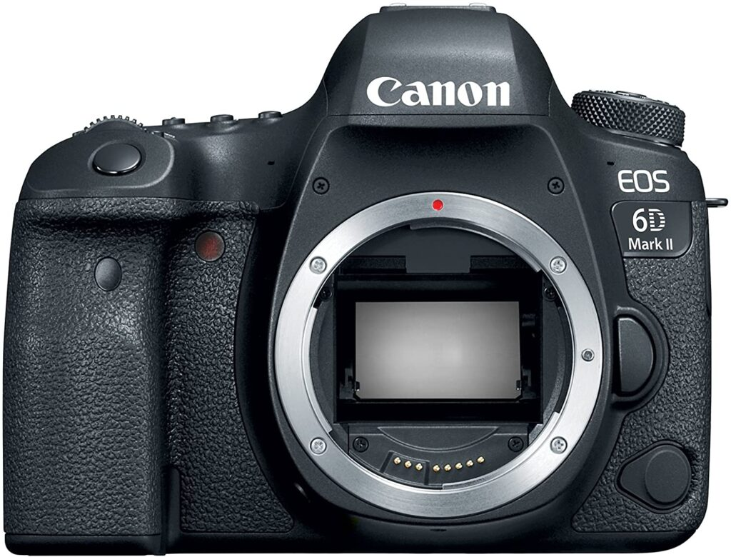 Canon 6D MK II: Is regarded as one of the best cameras for concert photography
