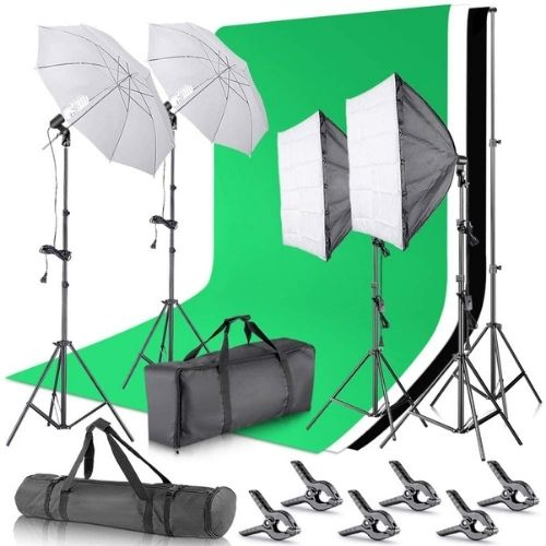 Neewer's Softbox Continuous Lighting Kit for Photo Studio