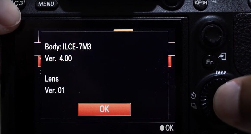 update Sony A7iii to 4.0 or 4.01