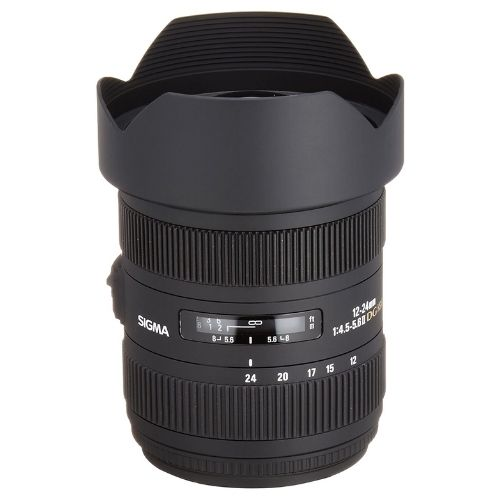 Sigma 12-24mm f/4.5-5.6 AF II DG HSM Wide Angle Lens for Sony A7iii
